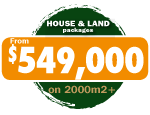 House & Land Package sales